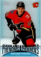 2018-19 UD TIM HORTONS CLEAR CUT PHENOMS MATTHEW TKACHUK INSERT CARD # CC8 New!!