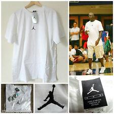 Men'S original vintage 90s Nike x Air Jordan T Shirt Jumpman DS Retro 133989 Bianco M