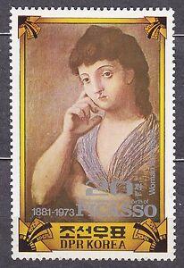 KOREA Pn. 1982 MNH** SC#2146 20ch, Pablo Picasso (1881-1973), Painter,
