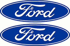 Ford Logo 2 Pack Sticker Decals, 375 x 120mm each