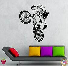 Wall Stickers Vinyl Decal Bike Biker Extreme Teen Street Sport  (z2111)