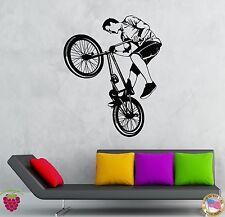 Wall Stickers Vinyl Decal Bike Biker Extreme Teen Street Sport  (z2111)