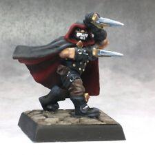 G'rond Dwarf Assassin Reaper Miniatures Warlord Rogue Fighter Melee Daggers Mask