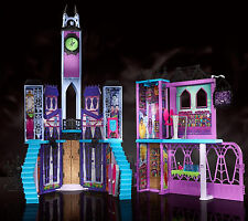 Monster High Iconic School Playset Castle Doll House Girls Best Gift Toy Play HQ