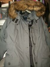 WOMEN'S GRAY ABERCROMBIE & FITCH WINTER ARTIC PARKA JACKET/COAT- SIZE XL