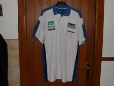 WORX CRESCENT SUZUKI RACING TEAM POLO SHIRT 2XL MENS SIGNED BY YUKIO KAGAYAMA