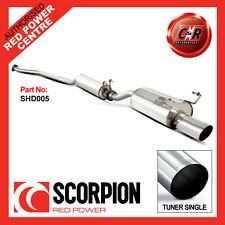 Scorpion SHD005 Honda Civic Ep3 Type R Cat Back Exhaust System (resonated)