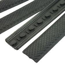 Black ( KEYMOD ) Handguard KeyMod Rail Covers Rubber Anti Slip Covers 4 Pack