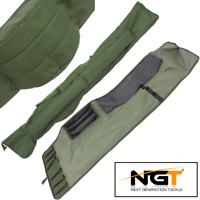 NGT ROD HOLDALL BAG 618 PADDED CARRYALL TO HOLD 3 RODS AND REELS 12FT RODS
