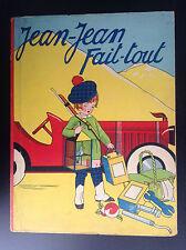 Rare Jean jean Fait Tout Gordinne 1936 BON ETAT PLUS à  TBE