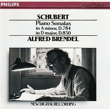Schubert: piano Sonatas D. 784 & D. 850-A. Brendel/CD (PHILIPS 422 063-2)