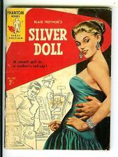 SILVER DOLL, rare Australian Phantom #723 crime gga noir digest pulp vintage pb