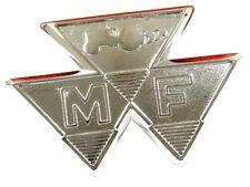 FRONT BADGE (UNPAINTED) FITS MASSEY FERGUSON 35 35x FE35 TRACTORS