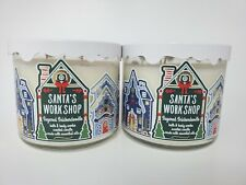 Bath & Body Works Set of 2 Sugared Snickerdoodle 3 Wick Candles NEW
