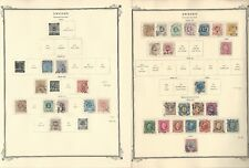 Sweden Collection 1855 to 1954 on 30 Scott Specialty Pages, Huge Cat Value