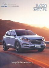 2015 Hyundai Tucson and Santa Fe 60-page Australia Car Sales Brochure Catalog