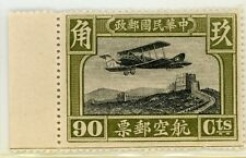 Cina 1929 Posta Aerea 90¢ Nuovo senza Linguella C793 ⭐⭐⭐ ⭐⭐⭐