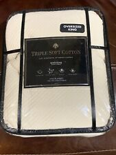 Liviana Cotton Triple Knit Full/Queen Blanket in Taupe