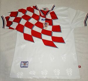CROATIA Home Shirt 1998