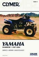 Clymer Repair Manual For Yamaha Warrior Yfm350x 1987 2004 Ebay