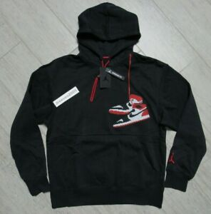 NWT Jordan Jumpman Holiday Pullover Hoodie Sz Large 100% Authentic CT3457 010