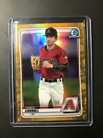 Corbin Carroll 2020 Bowman Chrome GOLD Refractor /50