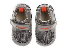 NIB ROBEEZ Mini Shoez Shoes Luke Gray Orange Penny Loafer 3-6m 2