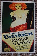 Blonde Venus Lobby Card Movie Poster Marlene Dietrich