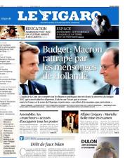 Le Figaro 30.6.2017 N°22671**MACRON et les mensonges HOLLANDE**TRUMP contre G20