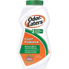 Odor Eaters Foot Powder 6 oz  Destroys Odor & Controls Wetness
