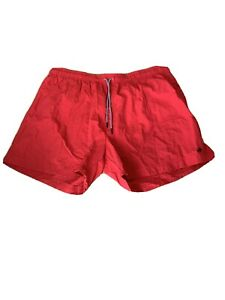 Mens Red Swim Shorts From F&F Size 3XL