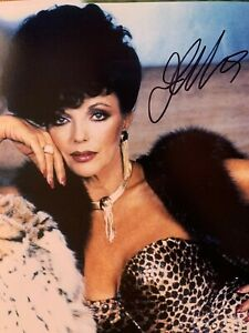 Joan Collins - Joan Collins Dynasty/ The Stud/ Star Trek - hand signed 10 x 8