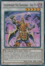 1x  Near Mint Legendary Six Samurai - Shi En - RYMP-ENSE1 - Super Rare - Limited