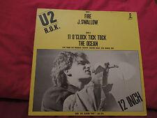 "U2 Fire RARE German 12"" Single"