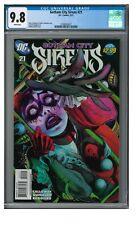 Gotham City Sirens #21 (2011) Beautiful Harley Quinn Cover CGC 9.8 GG460