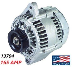 165 AMP 13794 Alternator Toyota 4Runner Tacoma Tundra High Output Performance HD