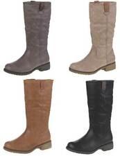 Markenlose Damen-Winter -/Schneestiefel-Stil mit Reißverschluss