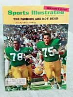Sports Illustrated October 28 1968 Green Bay Packers Brown Gregg
