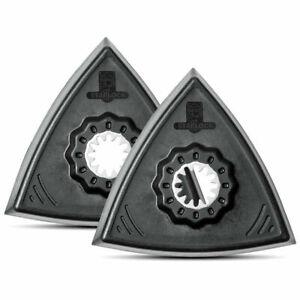 FEIN 63806129220 STARLOCK Triangular Sanding Pads - Pack of 2