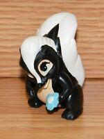 Genuine Disney's Bambi Flower Skunk Collectible PVC Cake Topper / Figurine