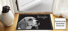 61cm x 40.6cm chien Beagle Noir brouillon DESSIN design porte d'entrée