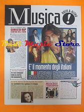 rivista MUSICA ! REPUBBLICA 26/1995 Skunk Anansie Massive Attack P. Tosh No*cd
