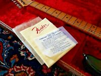 2 - Fender Guitar Polish Cloth 50's and 60´sReplica For Candy Cases Strats&Teles