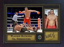 Wladimir Klitschko signed autograph Boxing Memorabilia WBA IBF WBO Framed