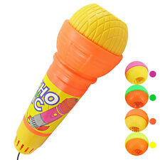 Echo Microphone Voice Changer Toy Mike Mic Birthday Kid Party Song Drama Play