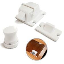 concealed Magnetic Cabinet Locks-No Drilling-4 Locks+1 key