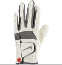 Nike Tech Remix Jr Left Handed Golf Glove Size Youth Large 19cm White Grey Nwt