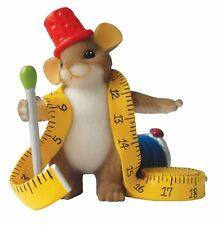Charming Tails 'You're Always Sewing Fashion' Mouse Figurine Gift, 4017342