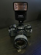 [Near Mint] Minolta X-700 Slr Camera w/ 28-70mm f/3.5 Lens & Flash! No Scratches