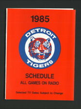 Detroit Tigers--1985 Pocket Schedule--League General